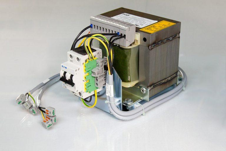 Transformator für Sicherheitstechnik