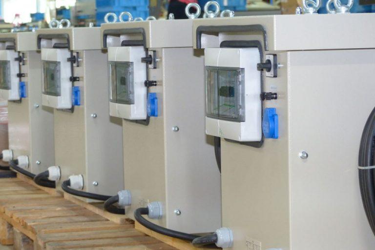 DTRO 20 kVA im Metallgehäuse