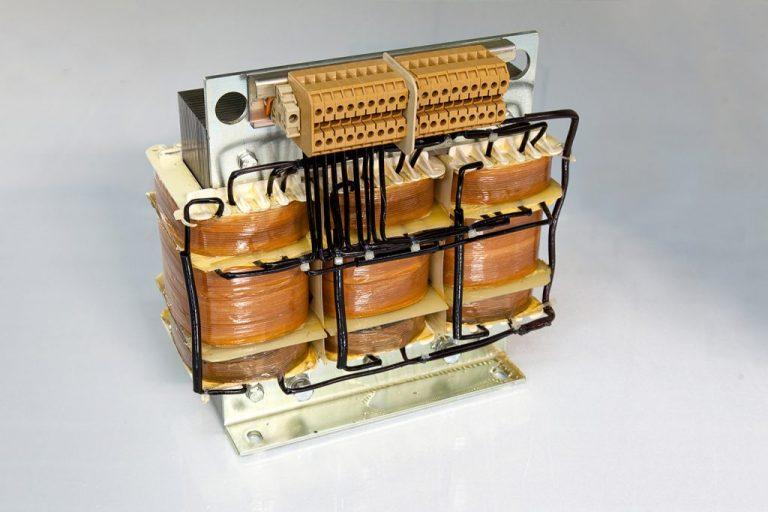Dreiphasen Transformator